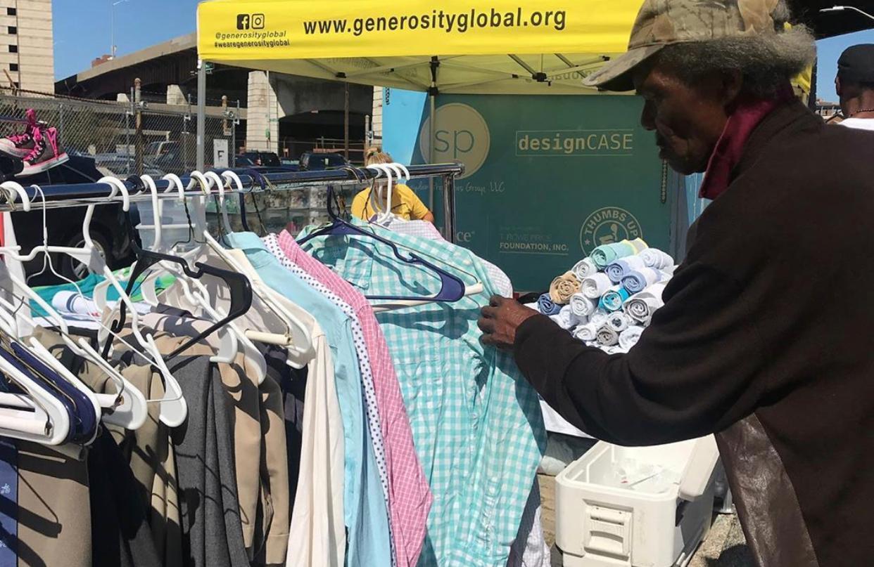 Generosity Shower Clothing