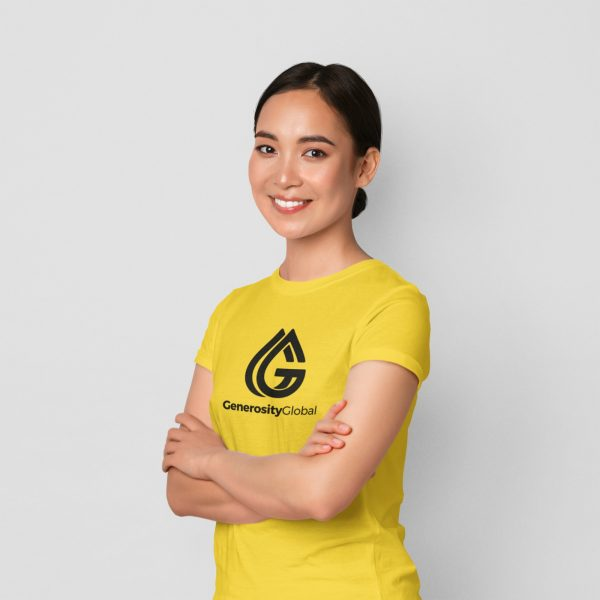 Yellow T shirt GG